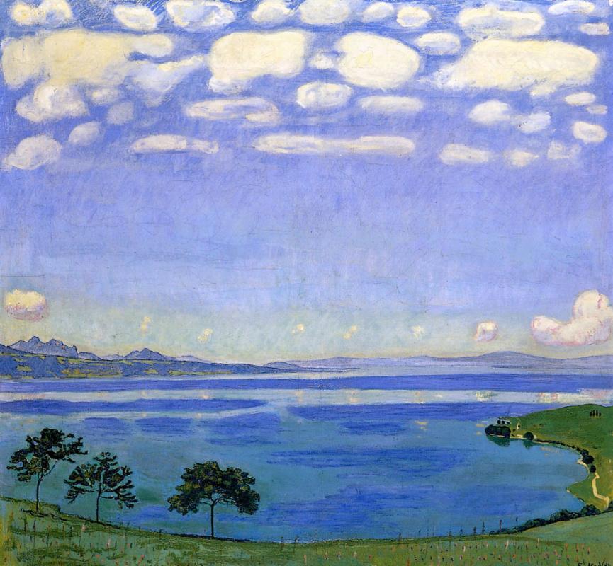 Фердинанд Ходлер. Женевское озеро