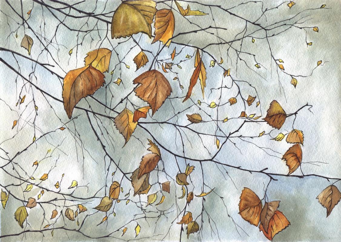 Svetlana Buzanova. Autumn dream