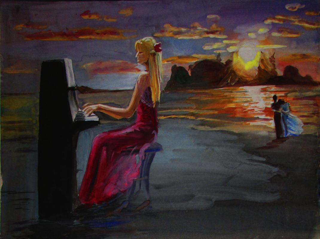 Olga Suncheleeva. Pianist