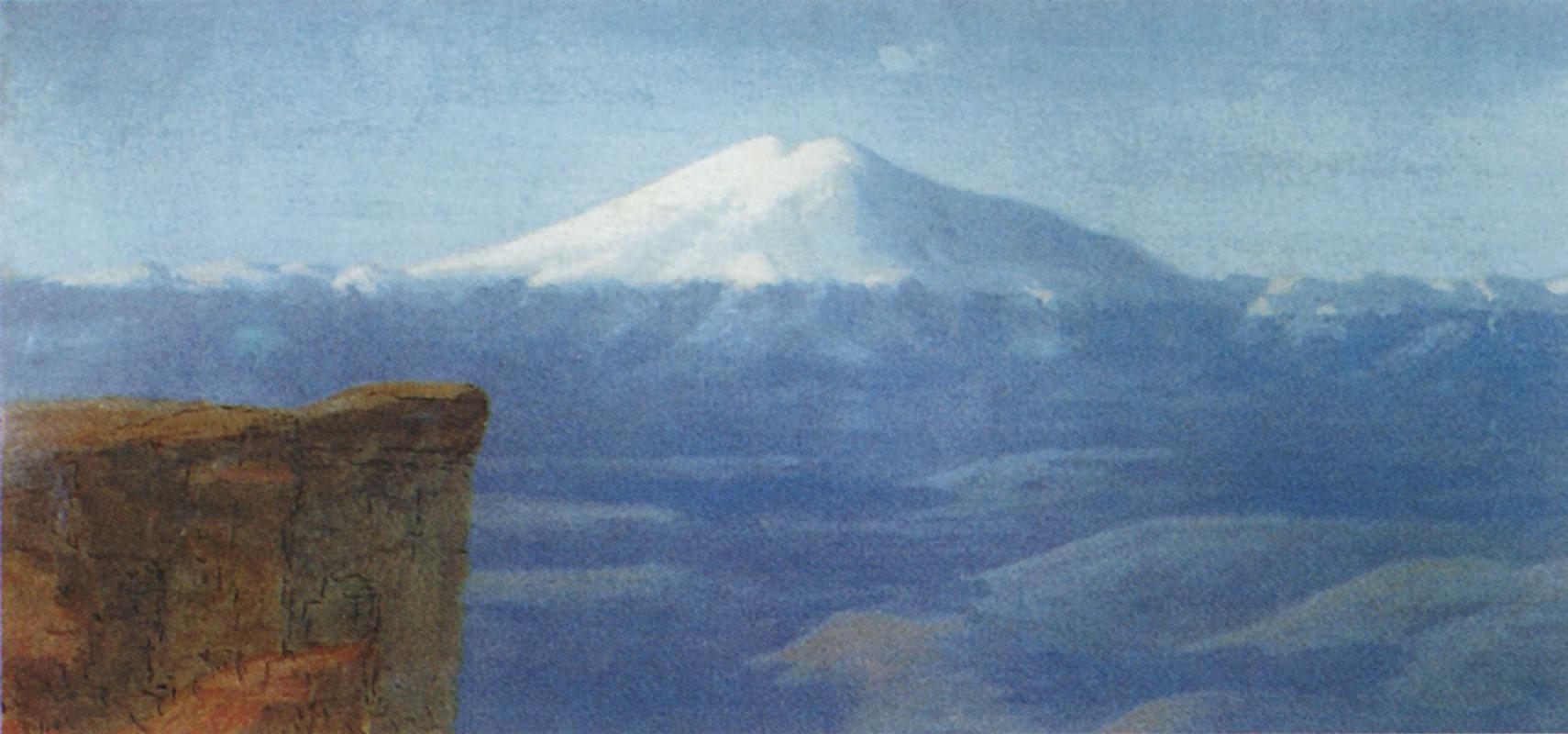 Arkhip Ivanovich Kuindzhi. Elbrus day