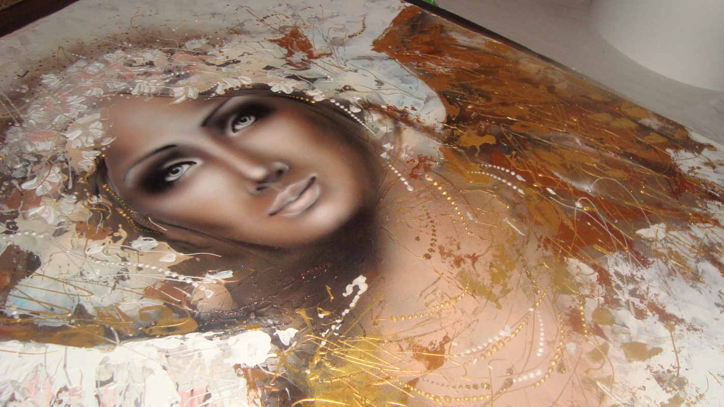 Olga Bobrovnik-Kovalchuk. Angel, author the vision of the image