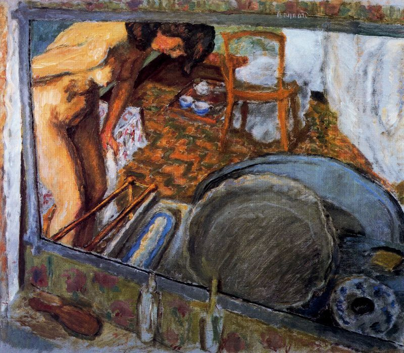 Пьер Боннар. Эффект зеркала (или Ванная)