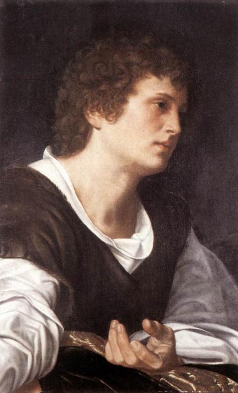 Джованни Джироламо Саволдо. Голова юноши