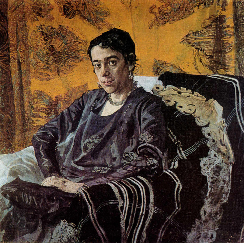 Alexander Yakovlevich Golovin. Portrait Of N. E. Dobychina