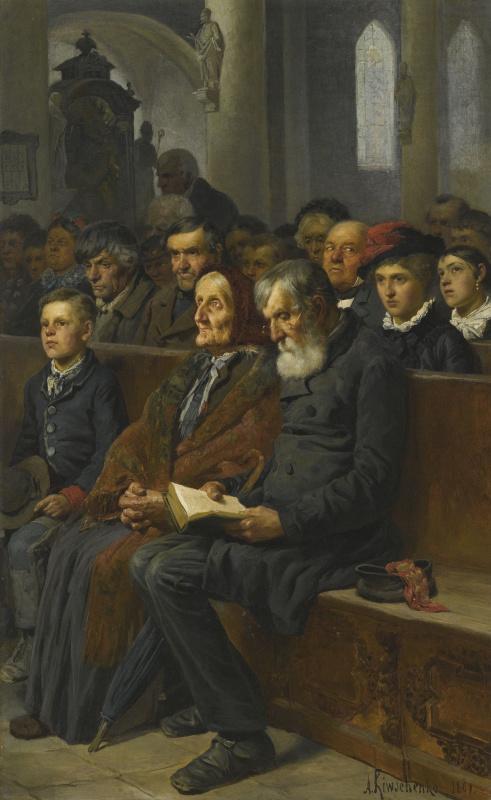 Alexey Danilovich Kivshenko. In the Church
