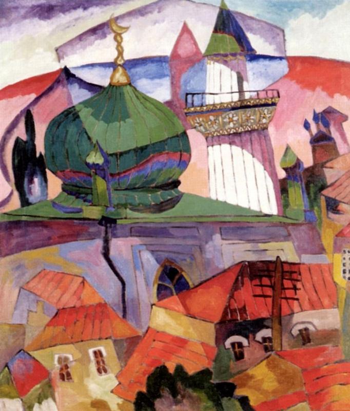 Аристарх Васильевич Лентулов. Мечеть