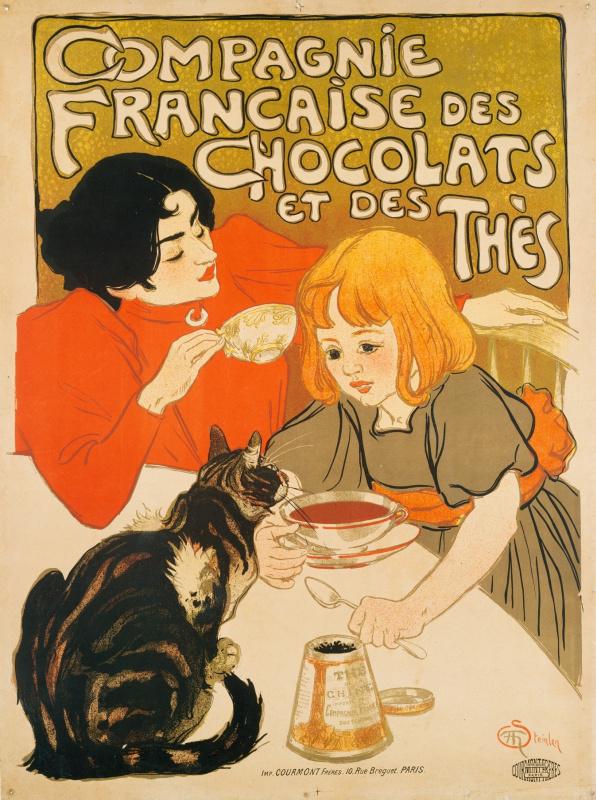Теофиль-Александр Стейнлен. Французский производитель шоколадных конфет к чаю