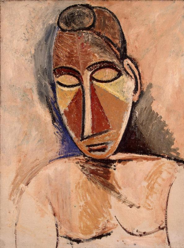 Пабло Пикассо. Обнаженная женщина