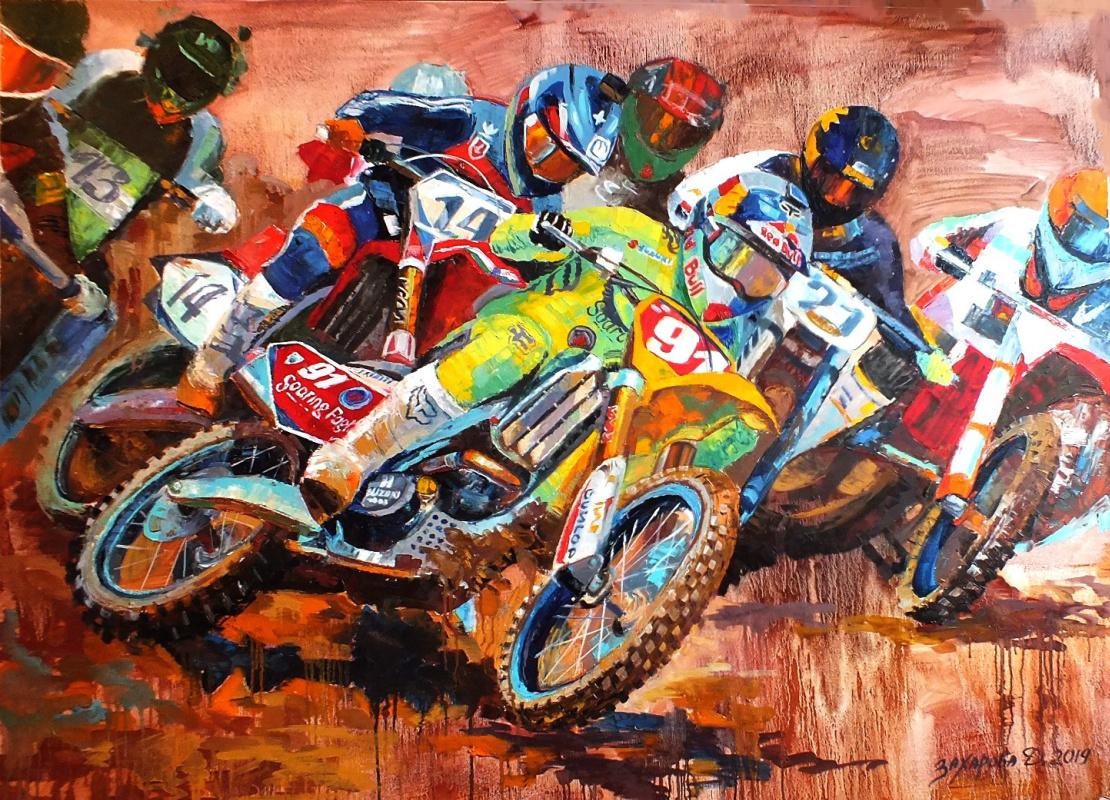 Dariya Zakharova. Motocross
