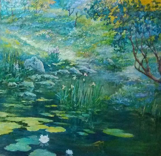 Valentin Nikolaevich Sudnitsyn. Water lilies