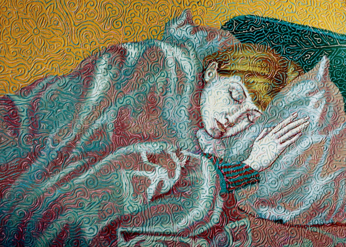 Алексей Петрович Акиндинов. Nega. Portrait of the artist's wife - Elena