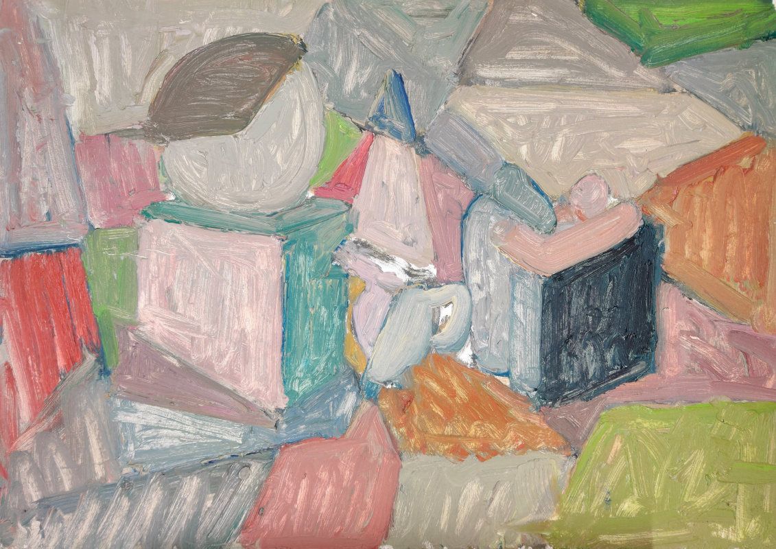 Mark Alexandrovich Yakut. Still life moved to astraction
