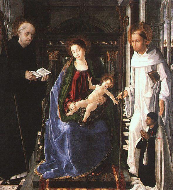 Паоло Леокади. Божья Матерь с младенцем