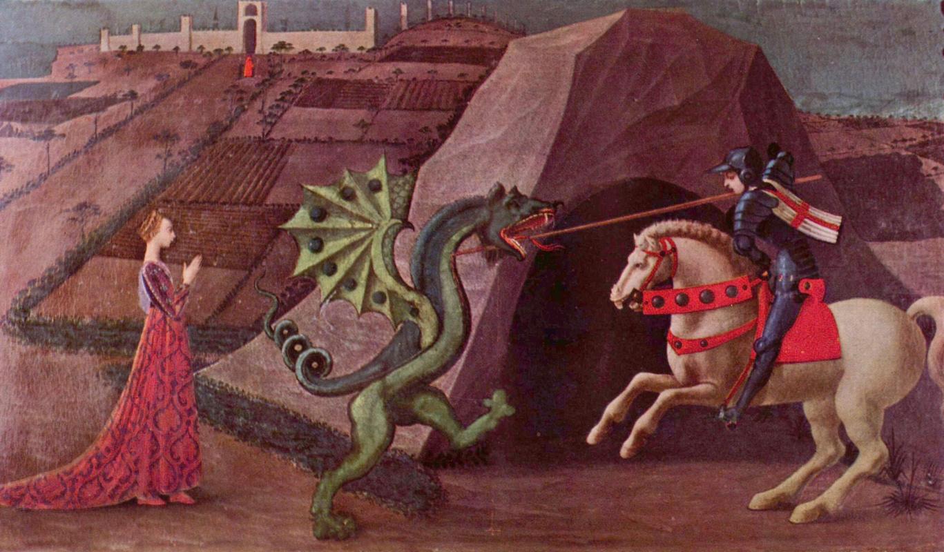 Паоло Уччелло. Св. Георгий и дракон