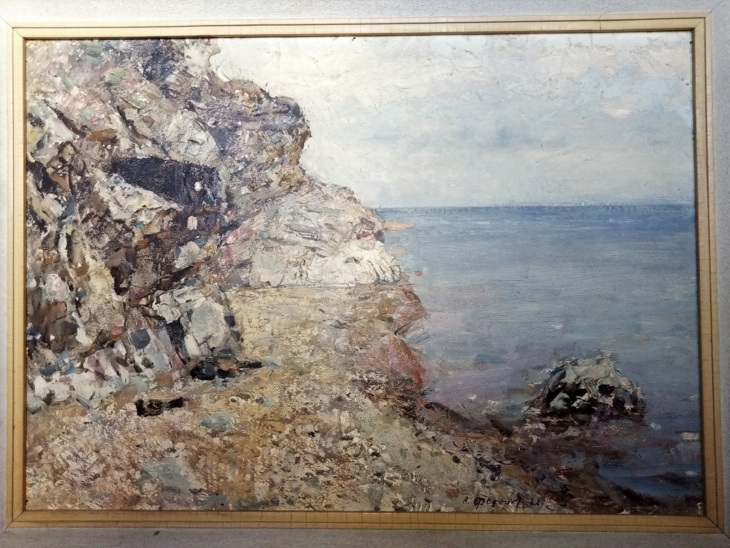 Vyacheslav Andreevich Fedorov. On the shores of Baikal