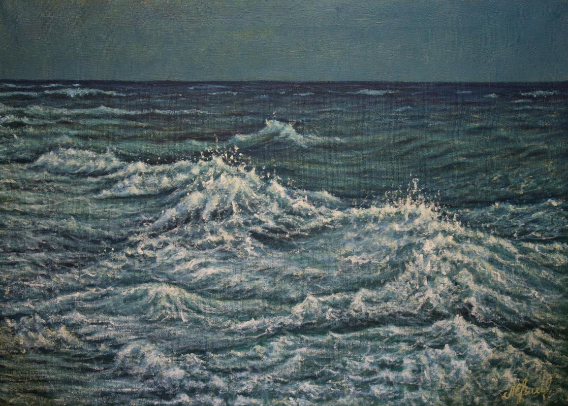 Valery Levchenko. No. 493 Seascape.