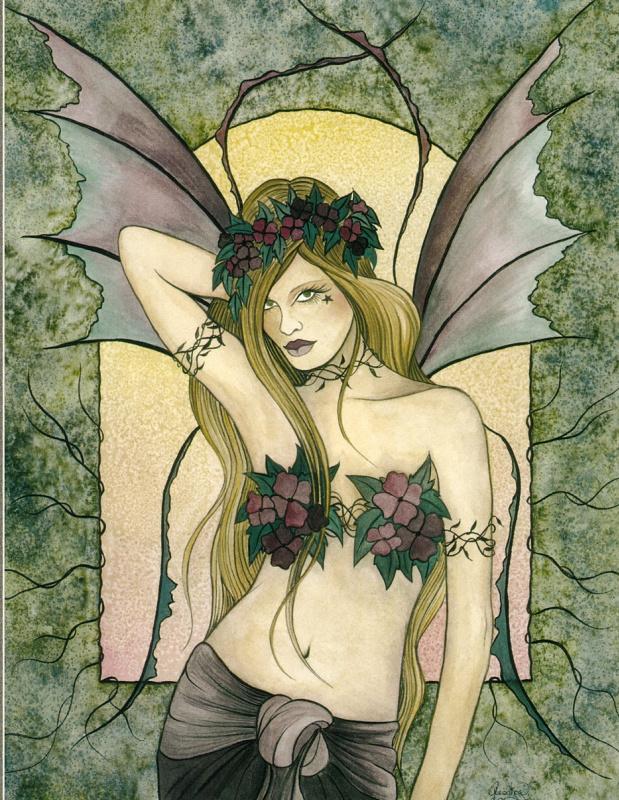 Джессика Галбрет. Весенняя фея