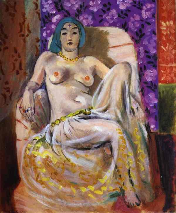 Henri Matisse. Raised Knee