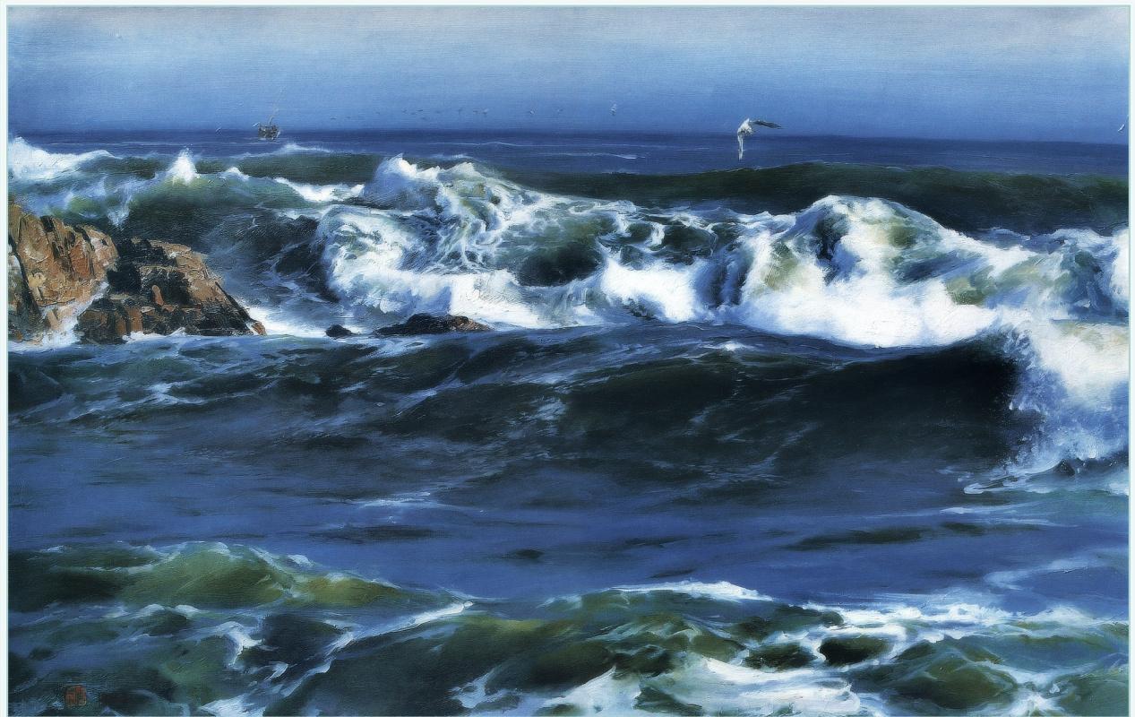 Ю. Пуджиес. Бесконечные волны