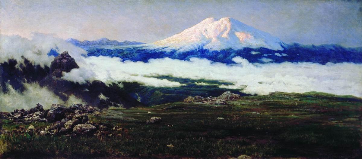 Nikolay Aleksandrovich Yaroshenko. Chat-mountain (Elbrus). 1884