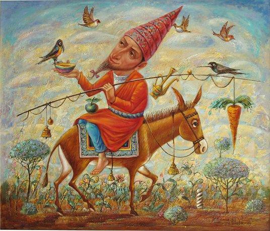 Александр Николаевич Шабанов. Bait ... BAIT Oil on canvas 60 * 70