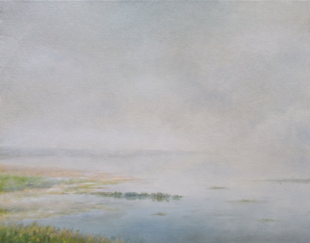 Vladimir Vasilyevich Abaimov. The foggy Lake 2
