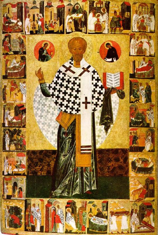 Иконопись. Святой Николай