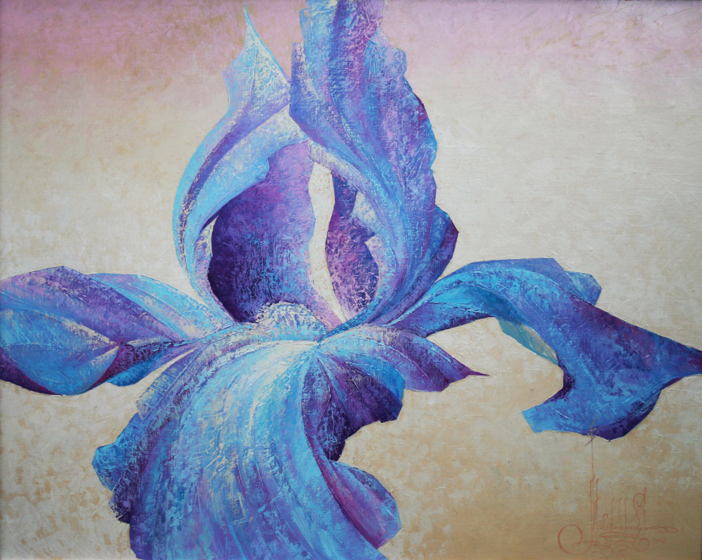 The Crown Of Creation The Flower Of Heaven Iris By Vadim