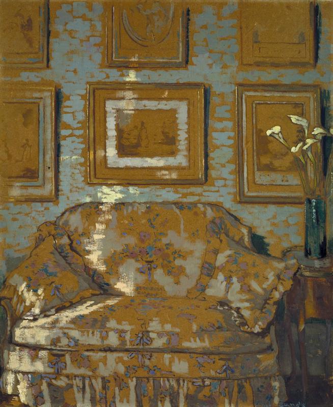 Ситцевый диван