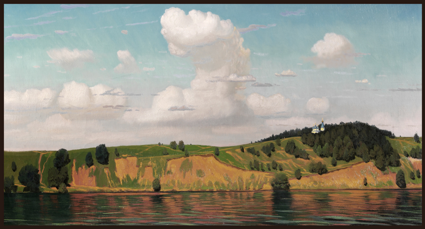 Sushienok64 @ mail.ru Mikhailovich Sushenok Igor. Volga cliff.