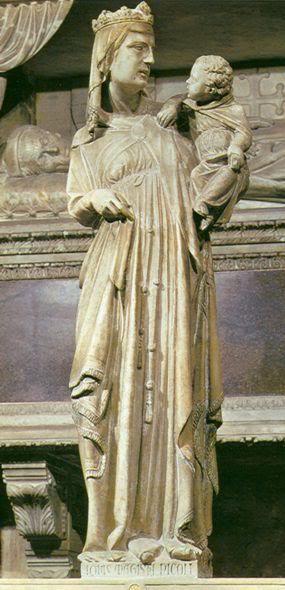 Giovanni Pisano. Madonna and Child. Scrovegni Chapel (Chapel del Arena), Padua