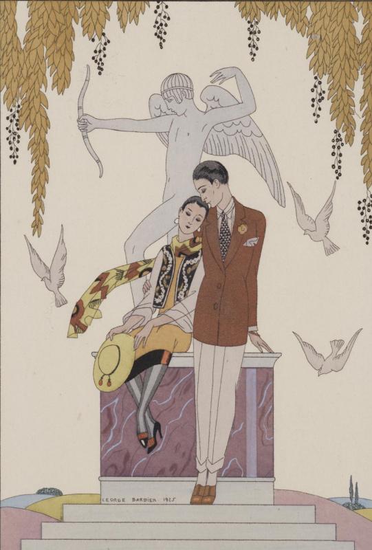 Georges Barbier. Autumn