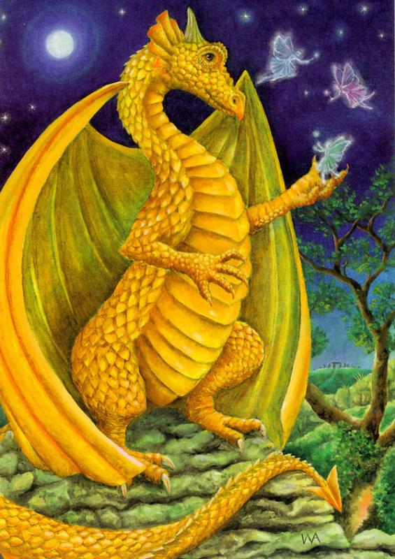 Желтый дракон и феи