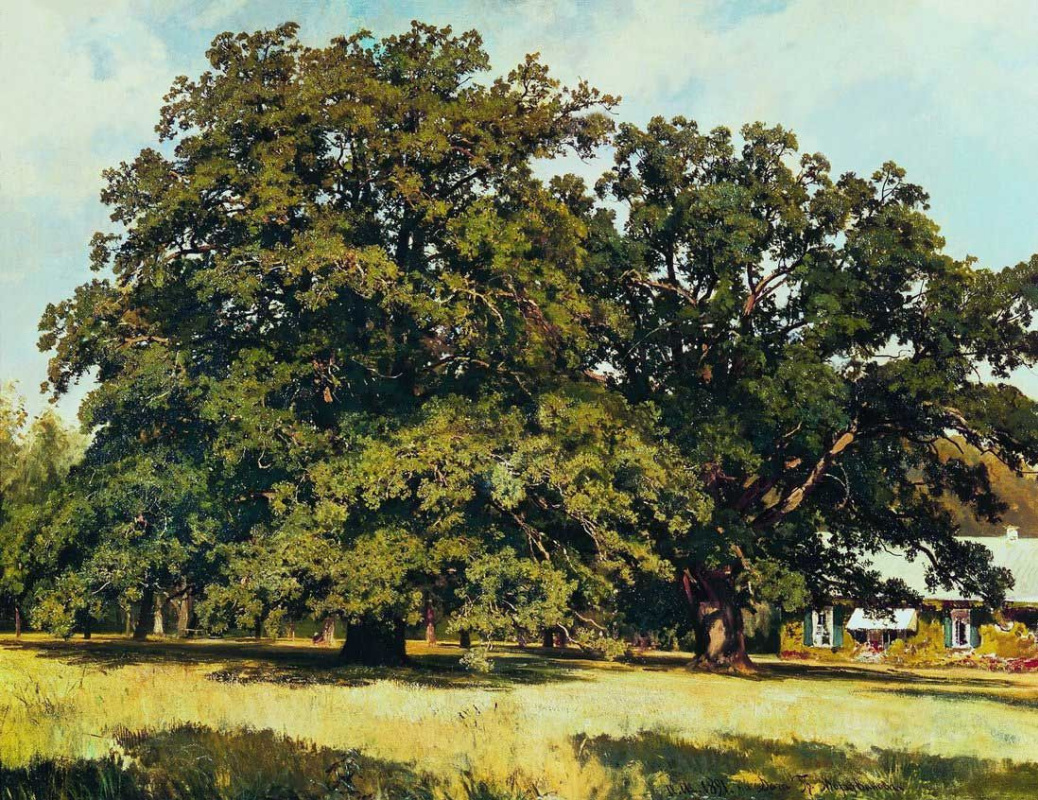 Ivan Shishkin. Mordvinova oaks