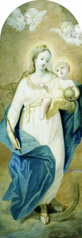 Иван Петрович Аргунов. Богоматерь. 1753