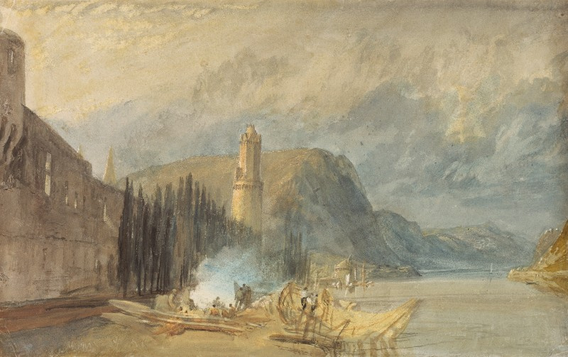 Joseph Mallord William Turner. Roman tower, Andernach
