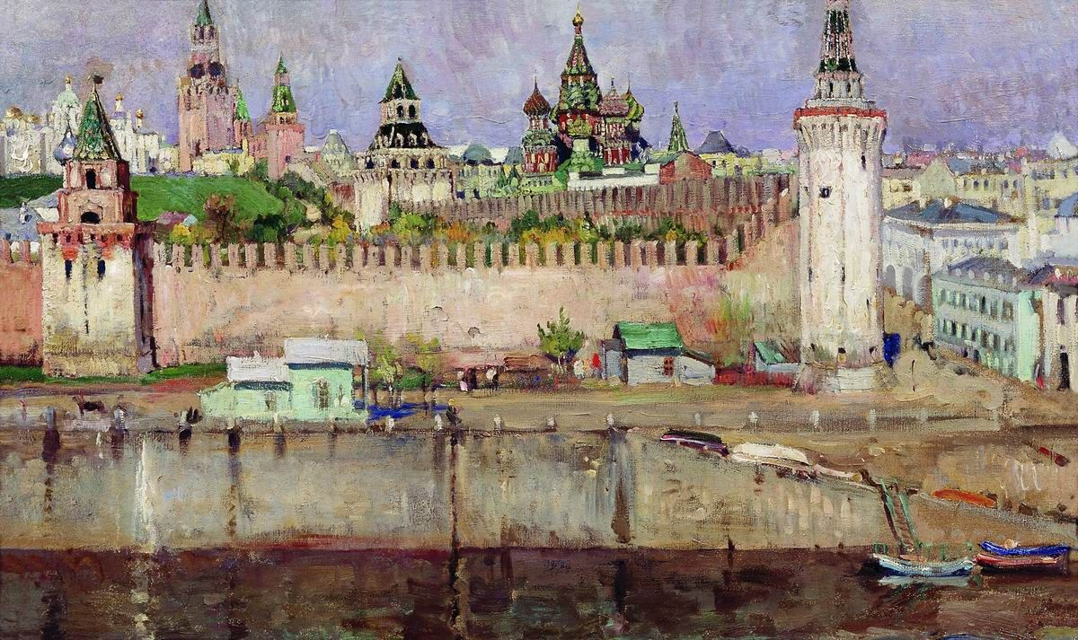Sergey Arsenievich Vinogradov. The Moscow Kremlin