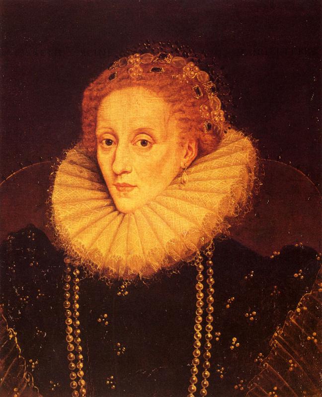 Marcus Girerts. Queen Elizabeth I