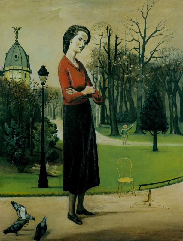 Balthus (Balthasar Klossovsky de Rola). Portrait of Leila Kaetani