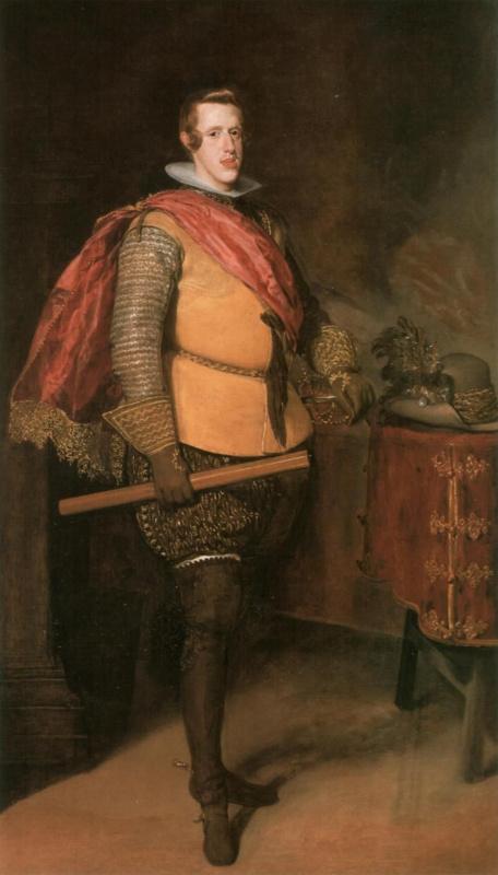 Диего Веласкес. Портрет Филиппа IV в жёлтом кафтане