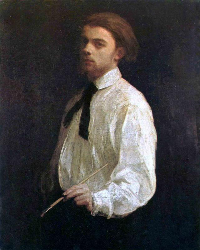 Henri Fantin-Latour. Self-portrait