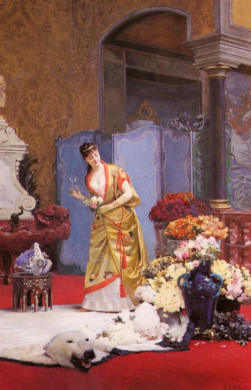Жан Жорж Вибер. Осенние цветы