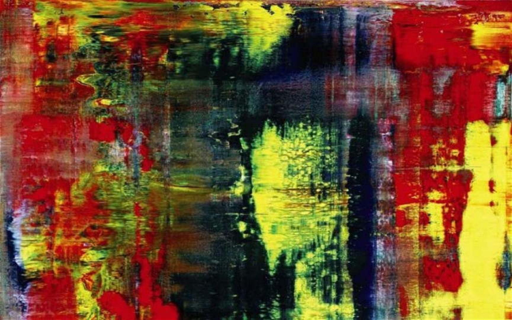 Герхард Рихтер. Абстрактная живопись
