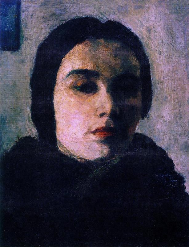 Raisa Veniaminovna Idelson. Self-portrait