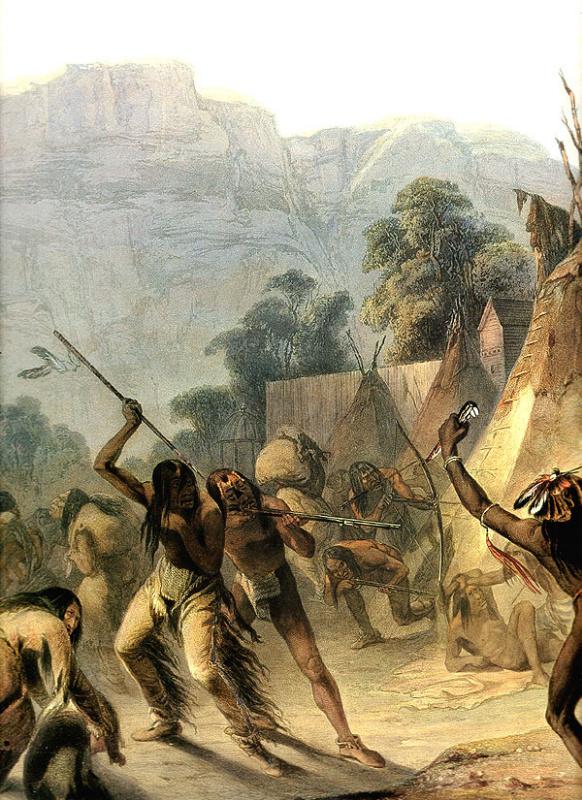 Карл Бодмер. Индейцы Миссури