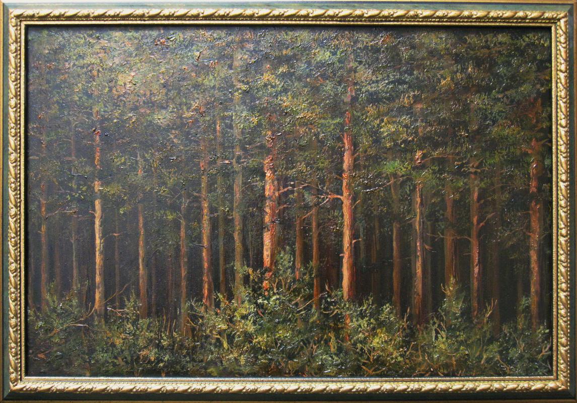 Евгений Геннадиевич Лактионов. Edge of the forest