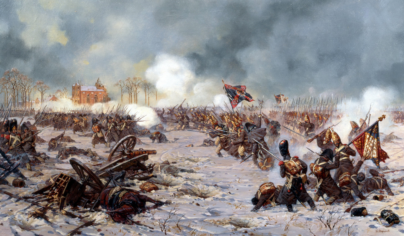 Alexander Yurievich Averyanov. Attack of the Moscow regiment