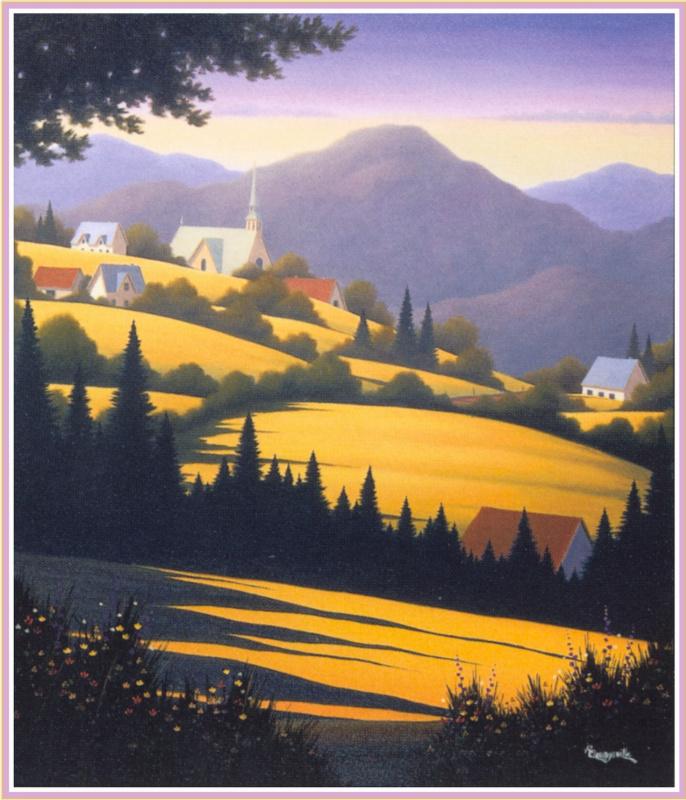 Раймонд Квенневилл. Пейзаж