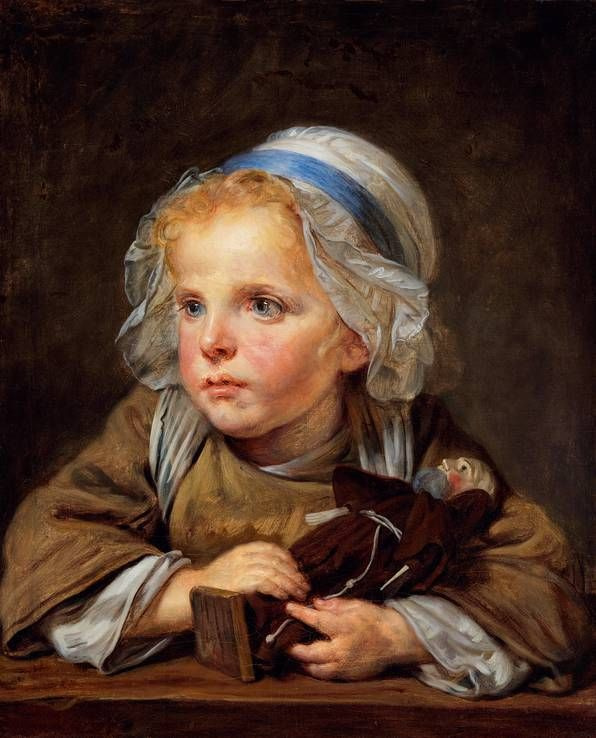 Jean-Baptiste Greuze. Doll-Capuchin