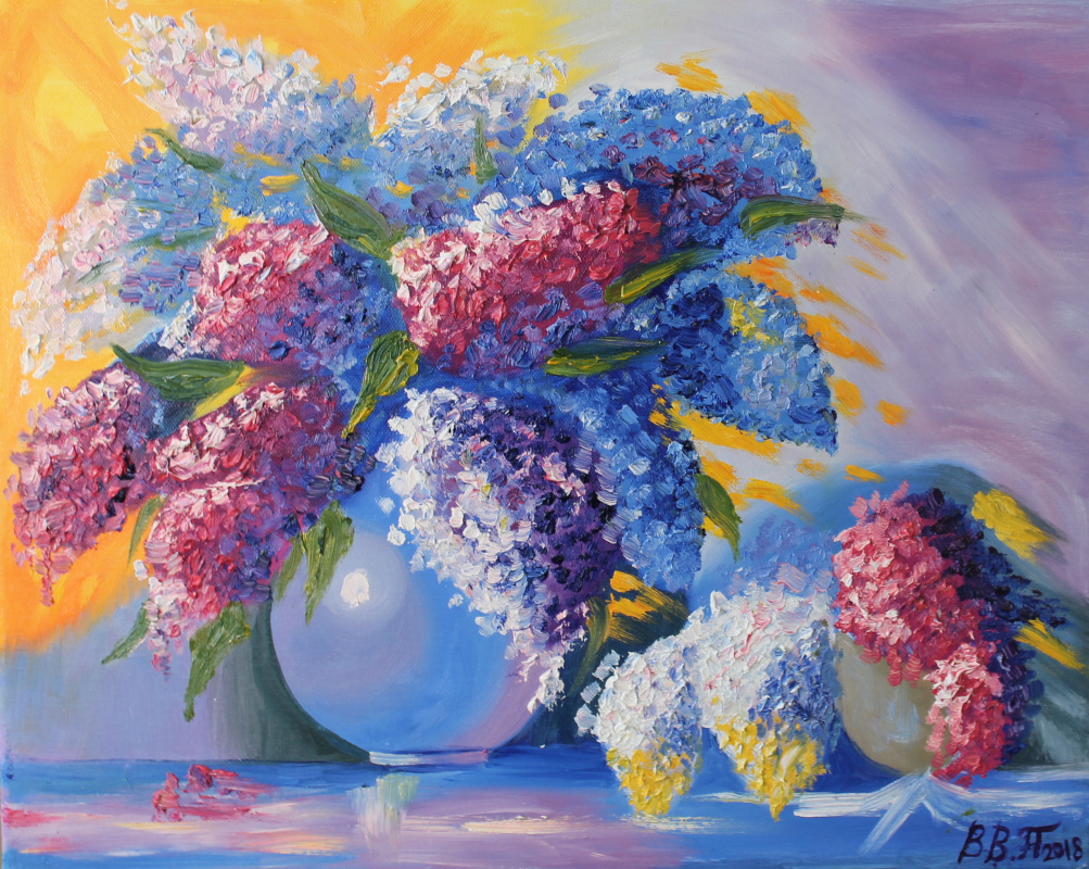 Vasilisa Viktorovna Perestoronina. Lilac